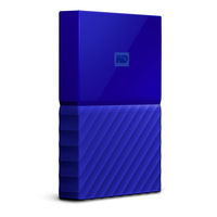 "WD My Passport 1TB / HDD / 2.5"" / NTFS / USB 3.0 / Modrá / 2y"