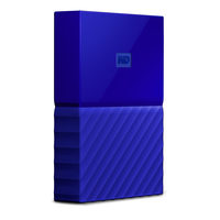 "WD My Passport 4TB / HDD / 2.5"" / NTFS / USB 3.0 / Modrá / 2y"