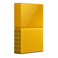 "WD My Passport 4TB / HDD / 2.5"" / NTFS / USB 3.0 / Žlutá / 2y"