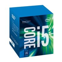 Intel Core i5-7400 @ 3.0GHz / TB 3.4GHz / 4C4T / 256kB, 1MB, 6MB / HD Graphics 630 / 1151 / Kaby Lake / 65W