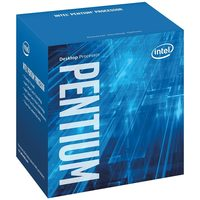 Intel Pentium G4600 @ 3.6GHz / 2C4T / 128kB, 512kB, 3MB / HD Graphics 630 / 1151 / Kaby Lake / 51W