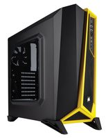 Corsair Carbide SPEC-ALPHA Black-Yellow / ATX / 2x USB 3.0 / 3x 120 mm / Průhledná bočnice