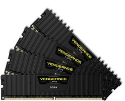 Corsair VENGEANCE LPX Black32GB / 4x8GB / DDR4 /  3000MHz / PC4-24000 / CL15-17-17-35 / 1.35V / XMP2.0 / s chladičem
