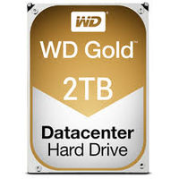 "WD Gold 2TB / HDD / 3.5"" SATA III / 7 200 rpm / 128MB cache / 5y"