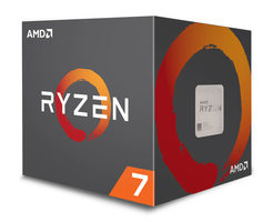 AMD RYZEN 7 1700X @ 3.4GHz / Turbo 3.8GHz / 8C16T / 768kB L1 4MB L2 16MB L3 / AM4 / Zen-Summit Ridge / 95W