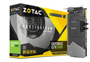 ZOTAC GeForce GTX 1080 ArcticStorm/Watercooling / 1632-1771MHz / 8GB D5X 10GHz / 256-bit / DVI + HDMI + 3x DP / 180W (8)