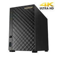 Asustor AS3202T / 2x HDD / Intel Celeron 1.6GHz / 2GB RAM / HDMI 1.4b / 3x USB 3.0 / GLAN