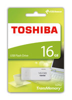 TOSHIBA U202 16GB USB Flash bílá / Flash Disk / USB 2.0