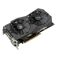 ASUS ROG-STRIX-RX570-O4G-GAMING / 1300-1310MHz / 4GB D5 7GHz / 256-bit / DVI + HDMI + DP / 120W