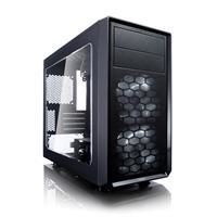 Fractal Design Focus G Mini Black Window / mATX / 2x 120mm / 1xUSB3.0 / 1xUSB2.0 / 2xJack / průhledná bočnice
