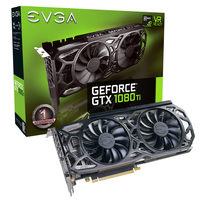 EVGA GeForce GTX 1080 Ti SC Black Edition GAMING / 1556-1670MHz / 11264MB GDDR5X / 352 Bit / HDMI / 3xDP / DVI