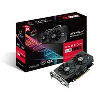 ASUS ROG-STRIX-RX560-O4G-GAMING / 1336 MHz/ 4 GB D5 7GHz / 128-bit / DVI + HDMI + DP / 80W