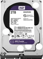 "WD Purple 2TB / HDD / 3.5"" SATA III / 5 400 rpm / 64MB cache / 3y"