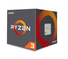 AMD RYZEN 3 1200 @ 3.1GHz / Turbo 3.4GHz / 4C4T / 384kB L1 2MB L2 8MB L3 / AM4 / Zen-Summit Ridge / 65W