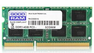 GOODRAM 8GB 1600MHz / SODIMM / DDR3 / CL11 / 1.35V