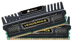 Rozbaleno - Corsair Vengeance Black 16GB DDR3 1600MHz / 2x8GB KIT / CL10 / 1.5V / XMP / rozbaleno