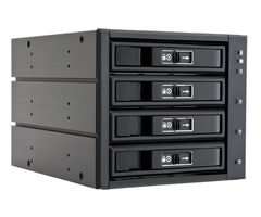 "CHIEFTEC backplane do 5.25"" na 4x SATA/SAS HDDs/SDDs (3.5"" nebo 2.5"")"