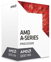 AMD A6-9500 @ 3.5GHz / Turbo 3.8GHz / 2C2T / L1 96kB 32kB L2 1MB / AM4 / Bristol Ridge / 65W