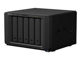 Synology DiskStation DS1517+ (8GB) / 5x HDD / Intel QC @2.4GHz / 8GB RAM / 4x USB 3.0 / 2x eSATA / 4x GLAN