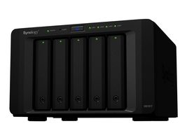 Synology DiskStation DS1517 (2GB) / 5x HDD / Alpine AL-314 QC @1.7GHz / 2GB RAM / 2x USB 3.0 / 2x eSATA / 4x GLAN