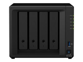 Synology DiskStation DS418 Play / 4x HDD / Celeron J3355 DC @2.5GHz / 2GB RAM / 2x USB 3.0 / SATA III / 2x GLAN