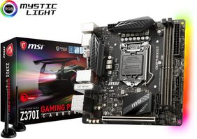 MSI Z370I GAMING PRO CARBON AC / Z370 / LGA1151 8th Intel / 2x DDR4 / M.2 / SATA III / DP / HDMI / M-ITX