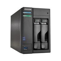 Asustor AS6102T / 2x HDD / Intel Celeron 1.6GHz / 2GB RAM / HDMI 1.4b / 3x USB 3.0 / GLAN