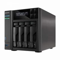 Asustor AS7004T / 4x HDD / Intel Core i3 2x3.5GHz / 2GB RAM / HDMI 1.4a / 3x USB 3.0 / 2x USB 2.0 / 2x GLAN