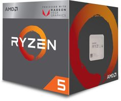 AMD RYZEN 5 2400G @ 3.6GHz / Turbo 3.9GHz / 4C8T / L2 2MB L3 4MB / AM4 / Zen-Summit Ridge / 65W