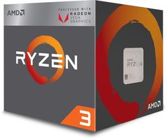 AMD RYZEN 3 2200G @ 3.5GHz / Turbo 3.7GHz / 4C8T / L2 2MB L3 4MB / AM4 / Zen-Summit Ridge / 65W