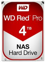 "WD Red Pro 4TB / HDD / 3.5"" SATA III / 7 200 rpm / 256MB cache / 5y"