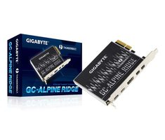 GIGABYTE GC-ALPINE RIDGE / Intel Thunderbolt 3 Certified add-in card / USB Type-C / DisplayPort / HDMI
