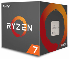 AMD RYZEN 7 2700X @ 3.7GHz / Turbo 4.3GHz / 8C16T / 4MB L2 16MB L3 / AM4 / Zen + / 105W
