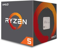 AMD RYZEN 5 2600 @ 3.4GHz / Turbo 3.9GHz / 6C12T / 3MB L2 16MB L3 / AM4 / Zen-Pinnacle Ridge / 65W