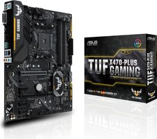 ASUS TUF X470-PLUS GAMING / AMD X470 / DDR4 / SATA III RAID / USB / GLAN / M.2 / sc.AM4 / ATX