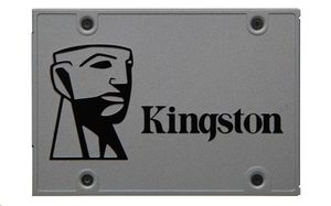 "Kingston UV500 240GB 2.5"" / SSD / SATA III / 3D TLC / 7mm / čtení:520MBs / zápis:500MBs / 79K 25K IOPS"