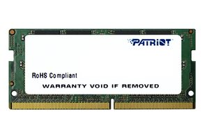 Patriot Signature 4GB 2133MHz / SODIMM / DDR4 / CL15 / Unbuffered / Non-ECC / 1.2V