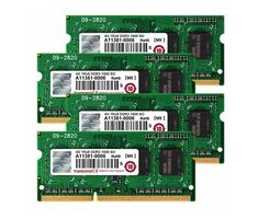 Transcend 16GB (4x4GB) 1600MHz / SODIMM / DDR3 / CL11 / 1.5V / pro Apple iMac 2012
