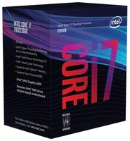 Intel Core i7-8086K @ 4GHz / TB 5GHz / 6C12T / 32kB 256kB 12MB / UHD Graphics 630 / 1151 / Coffee Lake / 95W