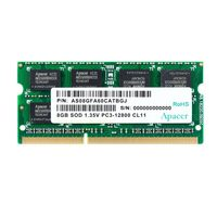 Apacer 8GB 1600MHz / SODIMM / DDR3 / CL11 / Unbuffered / Non-ECC / 1.35V