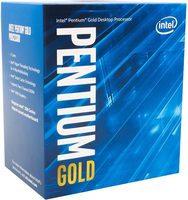 Intel Pentium Gold G5400 @ 3.7GHz / 2C4T / 64kB 512kB 4MB / UHD Graphics 610 / 1151 / Coffee Lake / 58W