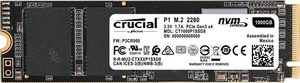 Crucial P1 1TB / M.2 2280 / R:2000MBs / W:1700MBs / 170.000 IOPS / 240.000 IOPS