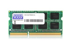 GOODRAM 4GB 1600MHz / DDR3 /SODIMM / CL11 / 1.5V / Single Rank