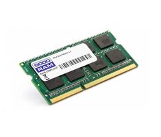 GOODRAM 8GB 1333MHz / DDR3 / SODIMM / CL9 / 1.35V