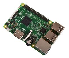 Raspberry PI 3 / Broadcom BCM2837 ARM Cortex-A53 – 1.2GHz / 1 GB / HDMI / LAN