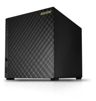 Asustor AS3204T v2 / 4x HDD / Intel Celeron 1.6GHz / 2GB RAM / HDMI 1.4b / 3x USB 3.0 / 2x GLAN