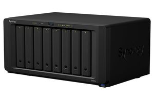 Synology DiskStation DS1819+ / 8x HDD / Intel Atom C3538 @2.1GHz / 4GB RAM / 4x USB 3.0 / 2x eSATA / 4x GLAN
