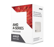 AMD A8 9600 @ 3.1GHz / Turbo 3.4GHz / 4C4T / L1 96kB 32kB L2 2MB / AM4 / Bristol Ridge / 65W
