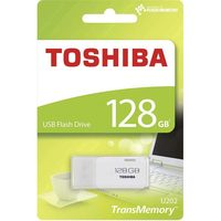 TOSHIBA U202 128GB USB Flash bílá / Flash Disk / USB 2.0