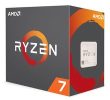 AMD RYZEN 7 1700 @ 3GHz / Turbo 3.7GHz / 8C16T / L1 768kB L2 4 MB L3 16MB / AM4 / Summit Ridge / 65W